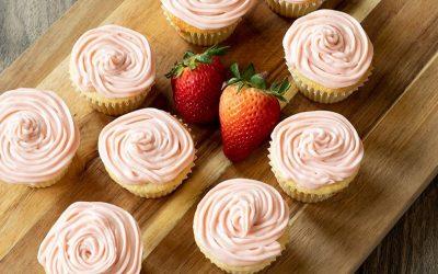 Pink Desserts for Valentine's Day
