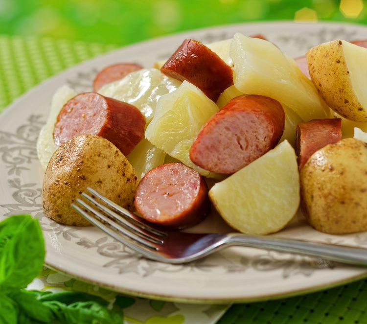 cabbage potato skillet