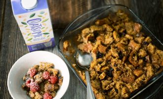 oatsome bread pudding