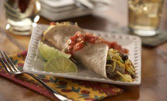 southwestern breakfast burrito