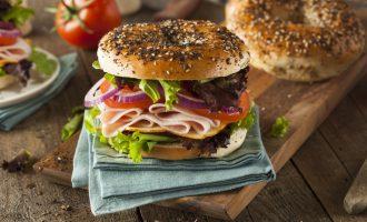 Everything Bagel Sandwich