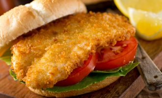 Panko Herb Crusted Cod