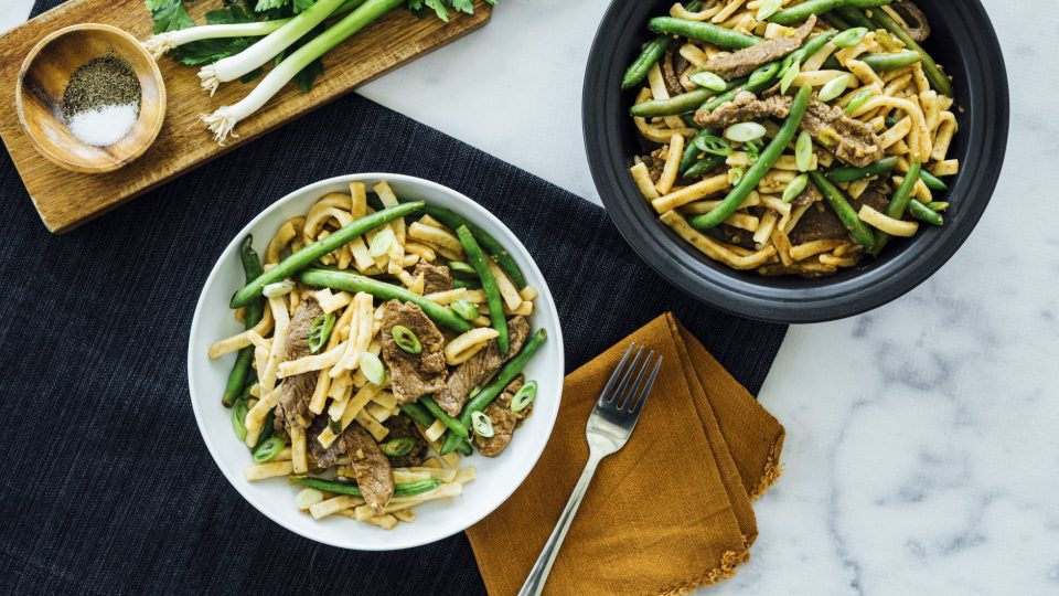 Ginger Beef With Noodles