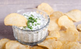 potato chip and dip