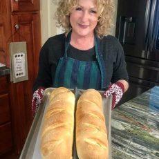 ali social distancing bread baking