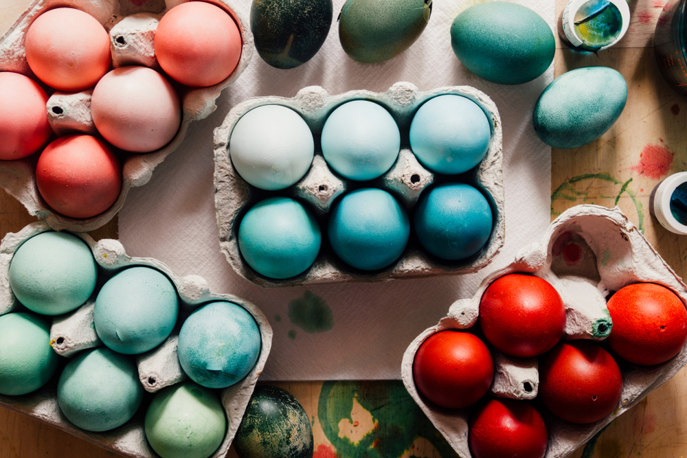 How to use Leftover Easter Eggs