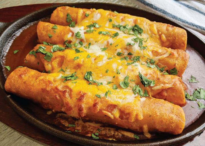 Ranchero Enchiladas
