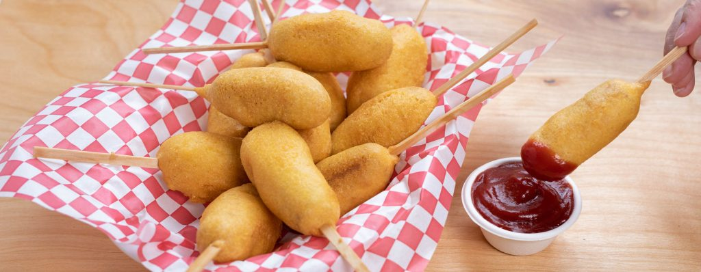 Homemade Mini Corndogs