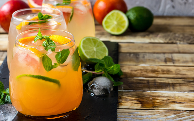 Lemonade Chai Spritzer