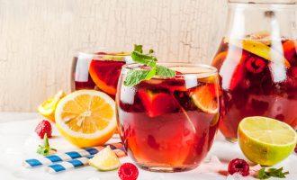 Oregon Chai Berry Spritzer