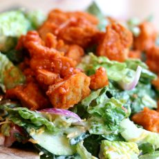 Easy Buffalo Salad