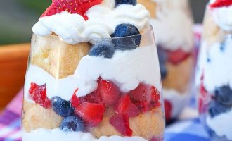 Patriotic Cream Puffs