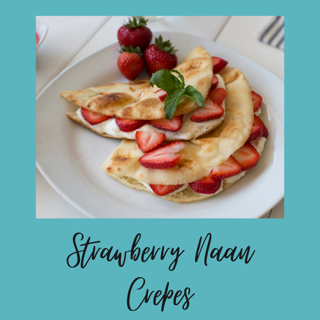 Strawberry Naan Crepes