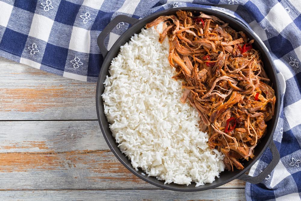 Sweet Chili Pork and Rice