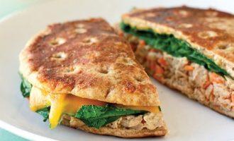 ranch tuna panini