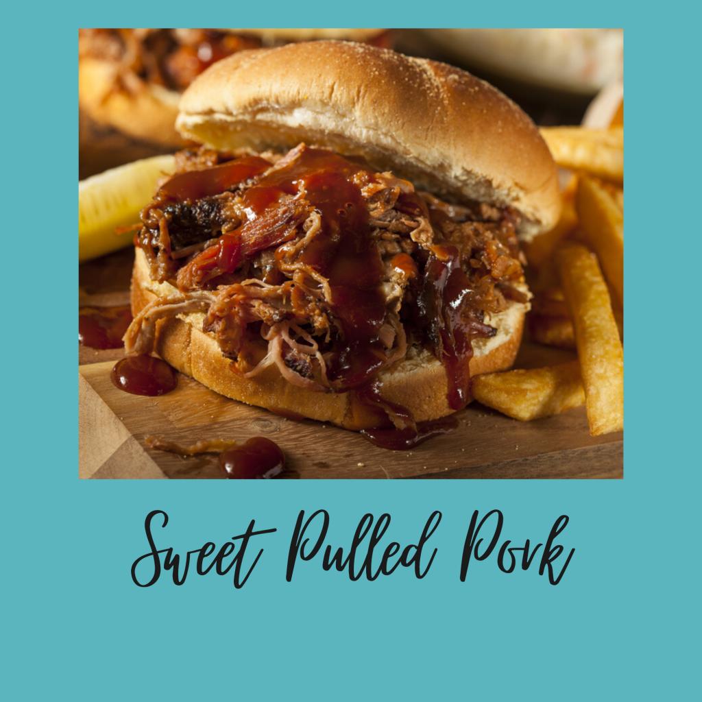 sweet pulled pork