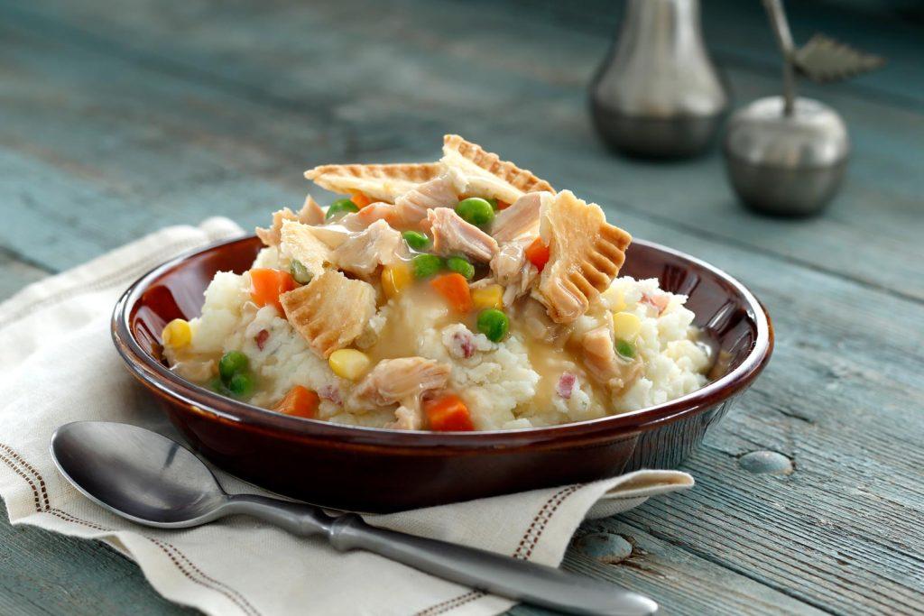 Mashed Potato Pot Pie