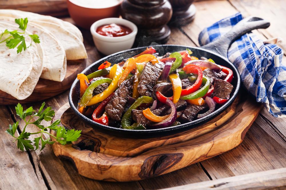 Quick Beef Fajitas