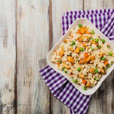 Risotto W/Peas, Carrots, & Chicken