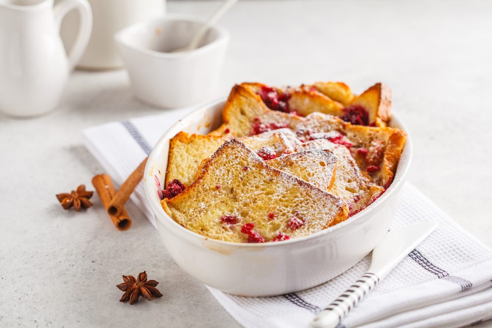 Raspberry French Toast Bake