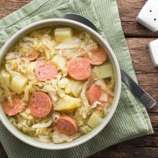 Cabbage, Potato & Sausage Stew