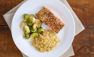 Crispy Peppercorn-Crusted Salmon