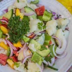 Cauliflower salad gluten-free-1