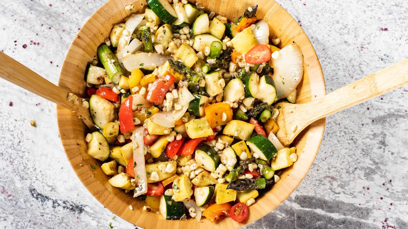 Chef Shamy Grilled Vegetable Salad