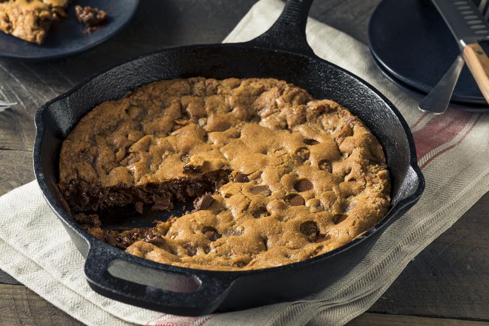 Chocolate Chip Skillet Cookie