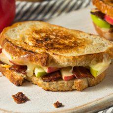 Apple Bacon Panini