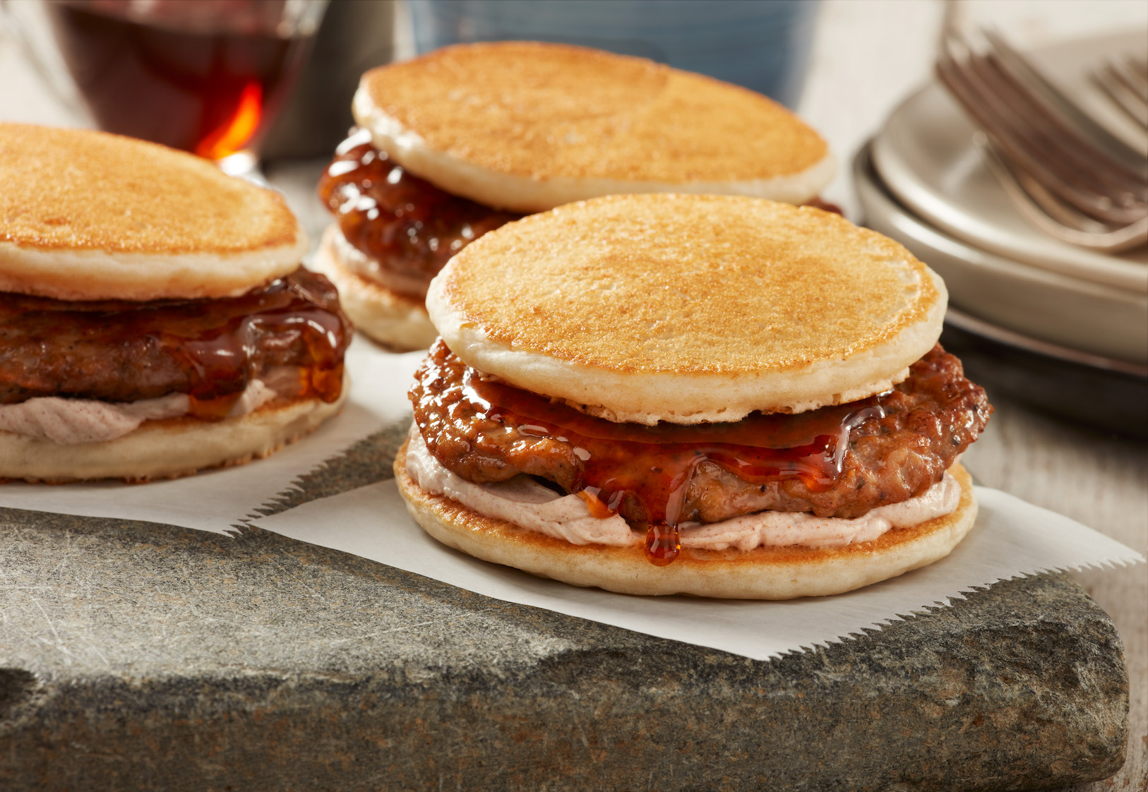 Maple Pancake Sliders