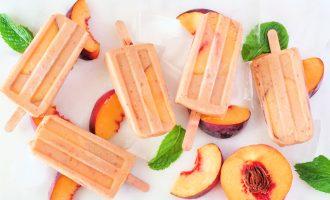 Peaches 'n Cream Pops
