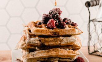 Triple Berry Waffles