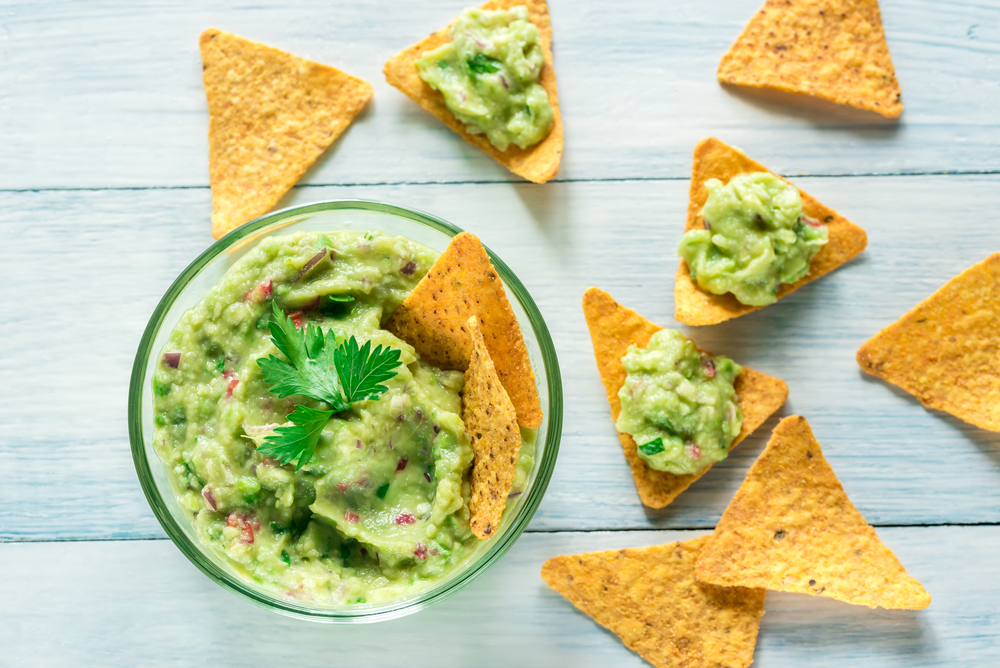 two ingredient guacamole