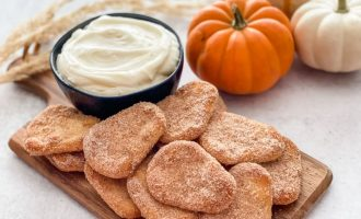 Pumpkin Spice Naan Dippers